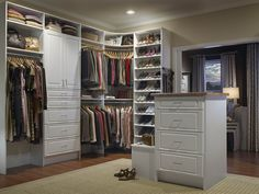 Cool Walk In Closet Organizers