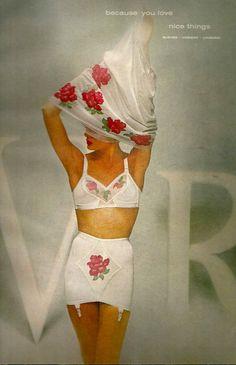1950s Van Raalte Lingerie Set