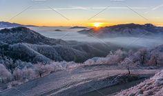 Beautiful winter morning by HrastovaSiska on @creativemarket