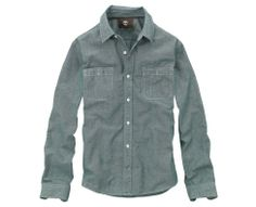 Men's Long Sleeve Falmouth Chambray Shirt - Timberland