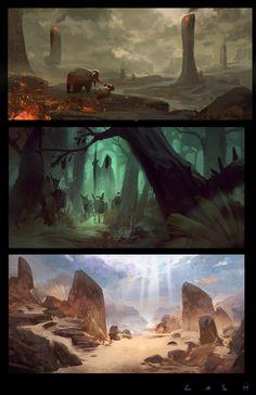Environments 013 Lash by EsbenLash on deviantART
