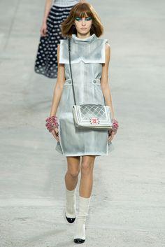 Chanel Spring 2014 Ready-to-Wear Fashion Show - Masha Zayteva (NATHALIE)