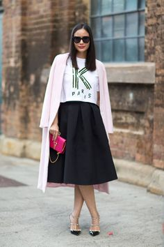 Street style looks to inspire your spring wardrobe.