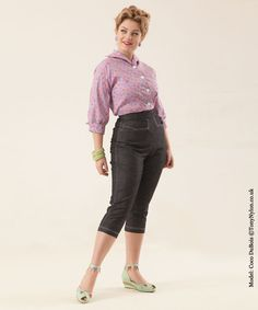 foto fräulein: Aussie Curves: Capri Pants (aka bodycon) | Rock and ...