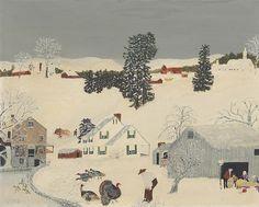 Art History News: Grandma Moses at Auction                                                                                                                                                                                 More