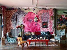 Martyn Thompson's NYC loft. Photography by Martyn Thompson.