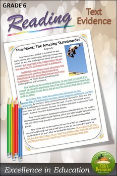 A fun and motivating way to build reading comprehension skills using color-coding to find text evidence. Ages or corresponding skill level. Reading Comprehension Skills, Comprehension Activities, Reading Skills, Text Codes, Text Evidence, Blended Learning, Close Reading, Sixth Grade, 5th Grades