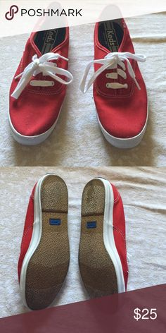 Red keds Never been worn and in excellent condition!open to offers Keds Shoes Sneakers
