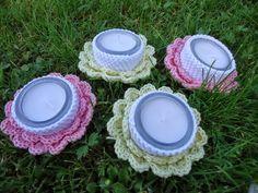 U cácorky: Návod na malý květinový svícínek