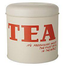 Buy Vintage by Hemingway Tea Storage Tin Online at johnlewis.com