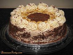 Tort bananowo-czekoladowy
