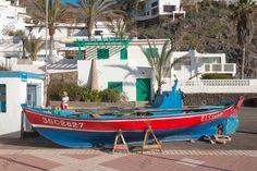Canaries Fuerteventura, Las Playitas bei Gran Tarajal, ruhiger Fischerort mit schwarzem Sandstrand.