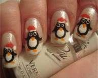 OMG!!!  cool nails penguin - Bing Images