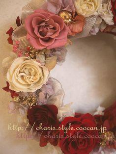 プリザーブドフラワーBunny flower http://www.rakuten.co.jp/bunny-flower