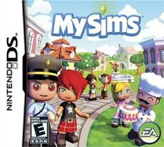 Nintendo DS game - My Sims boxed Sims New, My Sims, Nintendo Ds Lite, Nintendo Games, Nintendo Switch, Best Games, Fun Games, Xbox One, Pixel Art