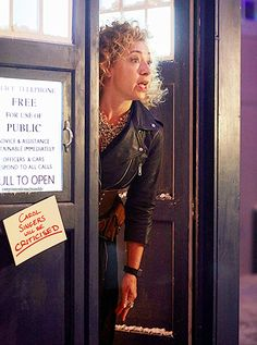 Alex Kingston as Professor River Song, The Husbands of River Song - Christmas promo #7