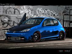 Peugeot 206 by Lopi-42 on DeviantArt