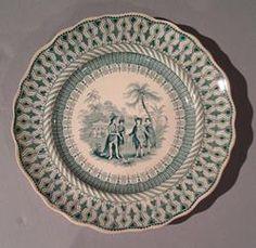Service plate,  ca. 1847-59| The Museum of Fine Arts, Houston