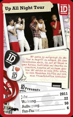 Top Trumps - One Direction