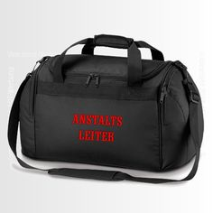 Reisetasche/Sporttasche Freestyle Holdall black... von Jajis-ART auf DaWanda.com