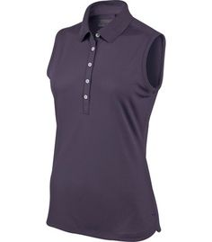 Made from polyester this lightweight womens sleeveless Victory golf polo shirt by Nike will ensure you look your very best when out on the course Nike Womens Golf, Womens Golf Polo, Nike Golf, Ladies Golf, Golf Clubs For Sale, Golf Polo Shirts, Mens Tops, Stuff To Buy, Fashion