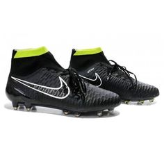 d837f16f51 Nike Magista Obra FG Cool Soccer Cleats- Black White Green