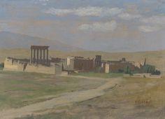 Jean-Léon_Gérôme_-_View_of_Baalbek