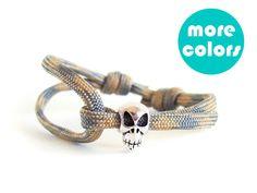 Skull Gifts For Him, Skull Bracelet For Men, Skull Jewelry, Skull Bracelets For Men . www.nadamlada.com . #jewelry #bracelet #birthday #christmas #men