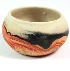 Nemadji Pottery Pot Vase Bowl