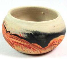 Nemadji Pottery Pot Vase Bowl