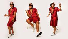 La opulencia y exageración en el nuevo video de Bruno Mars
