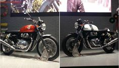 EICMA 2017: Royal Enfield Interceptor 650, Continental GT 650 Revealed