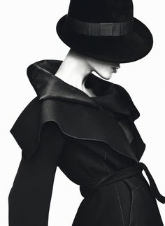 Aymeline Valade by Mert & Marcus for Giorgio Armani.