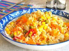 Очень удачный рецепт риса с овощами на сковороде: просто приготовить, а блюдо получается ярким, красочным и вкусным! Чтобы готовый рис был рассыпчатым, используйте длиннозерную пропаренную крупу. Пошаговый рецепт с фото сделает процесс приготовления простым, а для мобильной версии удобнее всего воспользоваться фоторецептом в конце статьи.  Ингредиенты на 6 порций 1 ст. риса; 1 […]