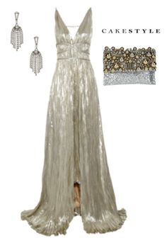 Black-Tie Optional Wedding | formal gown | shimmering gown | metallic gown | metallics | chandelier earrings | sparkly clutch