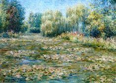 Water Lilies At Giverny Artwork by Blanche Hoschedé-Monet