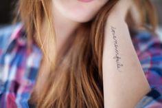 cursive + placement