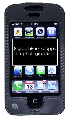 8 Great iPhone Apps for Photographers. Richardson Richardson Vanaman you'll need this for when you get your iPhone! Photography 101, Iphone Photography, Photography Business, Photography Tutorials, Mobile Photography, Landscape Photography, Portrait Photography, Fashion Photography, Wedding Photography