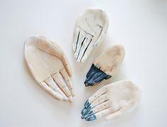 kaye blegvad ceramic hands
