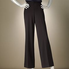 I LOVE LOVE LOVE wide leg pants! I have these except my zipper broke :( gotta get my ass to the tailor....