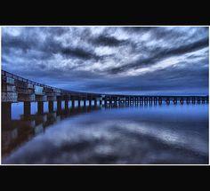 Tay Rail Bridge - Dundee Scotland