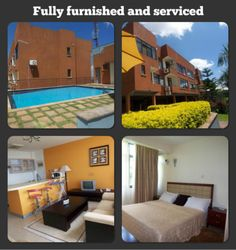 USD 2750 PER MONTH Fully furnished and serviced 2 bedroom apartments set on the hill with panoramic views Family Apartment, 1 Bedroom Apartment, Furnished Apartments, Apartment Complexes, Open Plan, Living Area, Outdoor Decor, Home Decor, Decoration Home