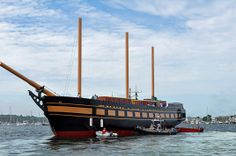 Building a War of 1812 Warship! It's nice to see another tall ship enter our small community!