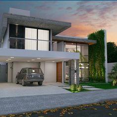 Arquitetura residencial por  Thalita Dias e Marcia Campetti Maringá | PR  #decor…