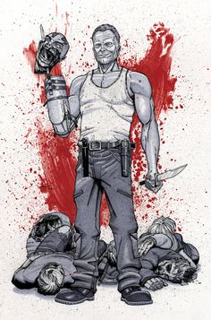 Merle Dixon - The Walking Dead - Ian Navarro