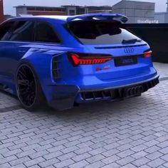 Exotic Sports Cars, Cool Sports Cars, Sport Cars, Cool Cars, Custom Muscle Cars, Custom Cars, Rs6 Audi, Audi Tt S, Audi Wagon