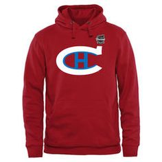 Men s Montreal Canadiens Red 2016 Winter Classic Vintage Hoodie Hockey  Outfits 508223436