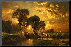 Medfield, Massachusetts - George Inness