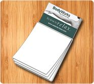 As Low as 41¢ | 3.5 x 6.25 Custom Magnetic Notepads W/ Business Card Magnet
