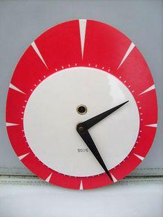 eBay watch: 1950s Smiths 8-Day wind-up wall clock